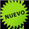 ¡Bocadillo verde que contiene el texto: Nuevo!