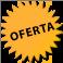 globus taronja que conté el text: Oferta!